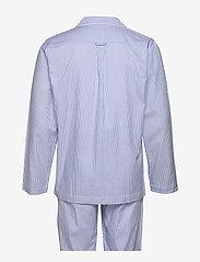 Gant - PAJAMA SET SHIRT CLASSIC STRIPE - pyjamas - white - 1