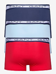 GANT - BASIC TRUNK 3-PACK - boxers - bright red - 5