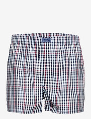 GANT - CHECK BOXER SHORTS 2-PACK - boxers - classic blue - 3