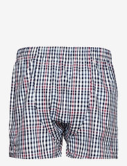 GANT - CHECK BOXER SHORTS 2-PACK - boxers - classic blue - 2