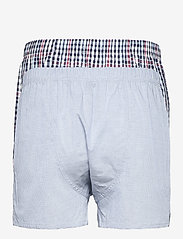 GANT - CHECK BOXER SHORTS 2-PACK - boxers - classic blue - 1