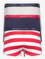 GANT - RUGBY STRIPE TRUNK 3-PACK - boxers - bright red - 5