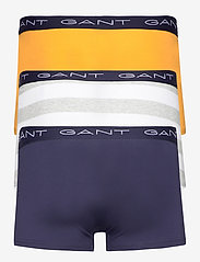 GANT - RUGBY STRIPE TRUNK 3-PACK - boxers - light grey melange - 5