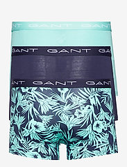 GANT - TIDAL BLOOM TRUNK 3-PACK - boxers - classic blue - 5