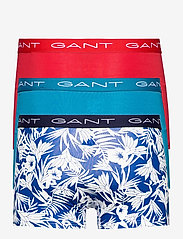 GANT - TIDAL BLOOM TRUNK 3-PACK - boxers - college blue - 5