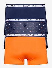 GANT - MARITIME FLAGS BASIC TRUNK 3-PACK - boxers - classic blue - 5