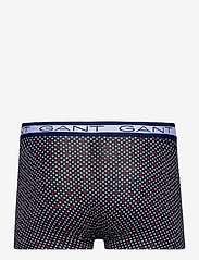 GANT - DIAMOND DOT BASIC TRUNK 3-PACK - boxers - persian blue - 3