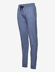 GANT - JERSEY PAJAMA PANTS - bottoms - denim blue mel - 2