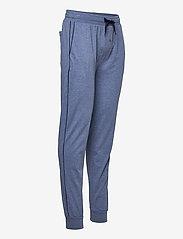 GANT - JERSEY PAJAMA PANTS - bottoms - denim blue mel - 3