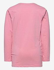 GANT - GANT LOCK-UP LS T-SHIRT - long-sleeved t-shirts - sea pink - 1