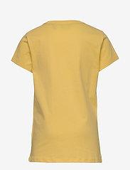 GANT - D1. GANT VARSITY SS T-SHIRT - kurzärmelige - mimosa yellow - 1
