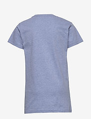GANT - D1. MEDIUM SHIELD SS T-SHIRT - kurzärmelige - frost blue mel - 1