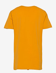 GANT - D2. NEW HAVEN BANNER SS T-SHIRT - short-sleeved - ivy gold - 1