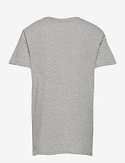 GANT - D2. SPORTY SHIELD SS T-SHIRT - short-sleeved - light grey melange - 1