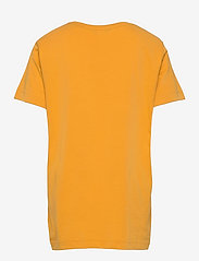 GANT - ARCHIVE SHIELD EMB SS T-SHIRT - short-sleeved - ivy gold - 1