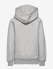 GANT - GANT SHIELD HOODIE - kapuzenpullover - light grey melange - 1