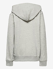 GANT - THE ORIGINAL FULL ZIP SWEAT HOODIE - hættetrøjer - light grey melange - 1