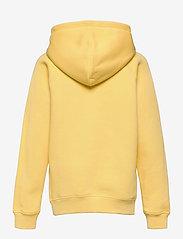 GANT - GANT LOCK-UP SWEAT HOODIE - hoodies - brimstone yellow - 1