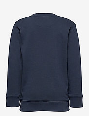 GANT - D1. MEDIUM SHIELD SWEAT C-NECK - sweatshirts - evening blue - 1