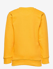 GANT - D1. MEDIUM SHIELD SWEAT C-NECK - sweatshirts - solar power yellow - 1