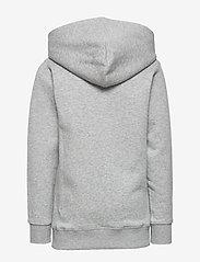 GANT - D1. MEDIUM SHIELD SWEAT HOODIE - hoodies - light grey melange - 1