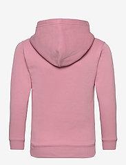 GANT - D1. MEDIUM SHIELD SWEAT HOODIE - kapuzenpullover - sea pink - 1