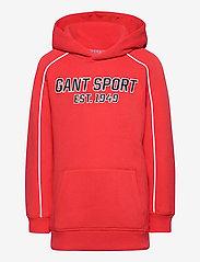 GANT - D1. GANT SPORT HOODIE - hoodies - atomic orange - 0