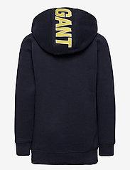 GANT - D1. GANT SPORT HOODIE - hoodies - evening blue - 1