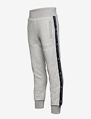 GANT - D1. LOCK UP STRIPE PANTS - jogginghosen - light grey melange - 2