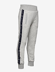 GANT - D1. LOCK UP STRIPE PANTS - jogginghosen - light grey melange - 3