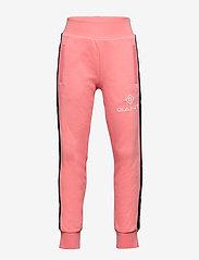 GANT - D1. LOCK UP STRIPE PANTS - jogginghosen - strawberry pink - 0