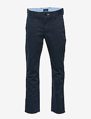 GANT - GANT CHINO - trousers - evening blue - 0