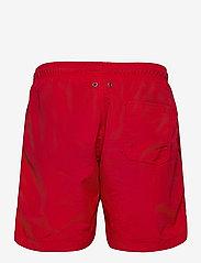 GANT - BOY'S SWIM SHORTS - badehosen - bright red - 1