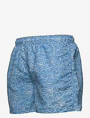 GANT - FULL BLOOM OUTLINE SWIM SHORTS C.F. - swim shorts - lava blue - 2