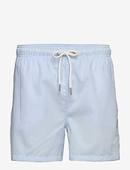 Gant - SEERSUCKER SWIM SHORTS CF - swim shorts - capri blue - 0