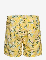 Gant - LEMON FLOWERS SWIM SHORTS CF - swim shorts - sunlight - 1