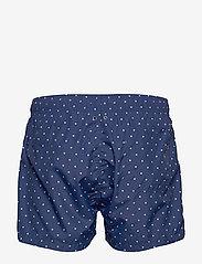 Gant - POLKA DOT SWIM SHORTS LW SHORT CUT - swim shorts - deep blue - 1
