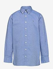 GANT - ARCHIVE OXFORD B.D SHIRT - shirts - clear blue - 0