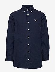 GANT - ARCHIVE OXFORD B.D SHIRT - shirts - evening blue - 0