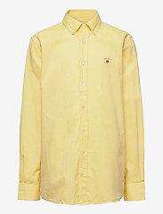 GANT - ARCHIVE OXFORD B.D SHIRT - shirts - lemon - 0