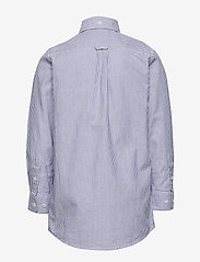 GANT - ARCHIVE OXFORD STRIPE BD SHIRT - shirts - college blue - 1