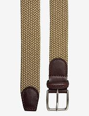 GANT - ELASTIC BRAID BELT - braided belts - dark cactus - 1