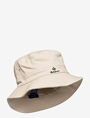 GANT - D1. BUCKET HAT - bucket hats - putty - 0
