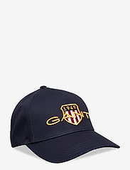GANT - D1. ARCHIVE SHIELD COTTON CAP - caps - marine - 0