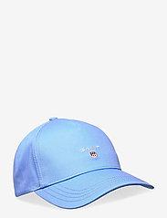 GANT - ORIGINAL SHIELD CAP - caps - pacific blue - 0