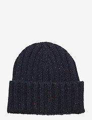 GANT - D2. NEPS KNIT BEANIE - bonnet - marine - 0