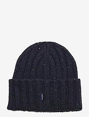 GANT - D2. NEPS KNIT BEANIE - bonnet - marine - 1