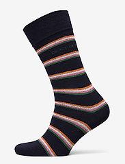GANT - D1. 1 PACK MULTI STRIPE - chaussettes régulières - marine - 0