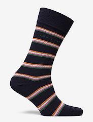 GANT - D1. 1 PACK MULTI STRIPE - chaussettes régulières - marine - 1