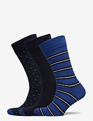 GANT - D2. 3-PACK MIX SOCKS GIFT BOX - regular socks - crisp blue - 0